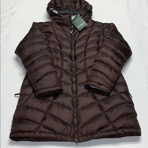 Brown L.L. Bean Coat